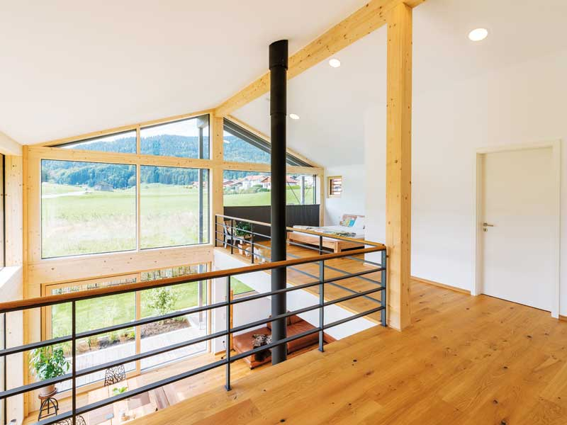 Die Galerie im Öko-Designhaus Kaiser