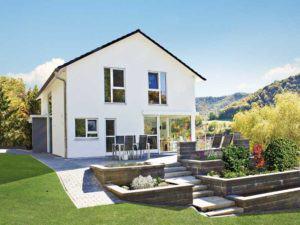 Entwurf Homestory 264 von Lehner Haus Aussenansicht