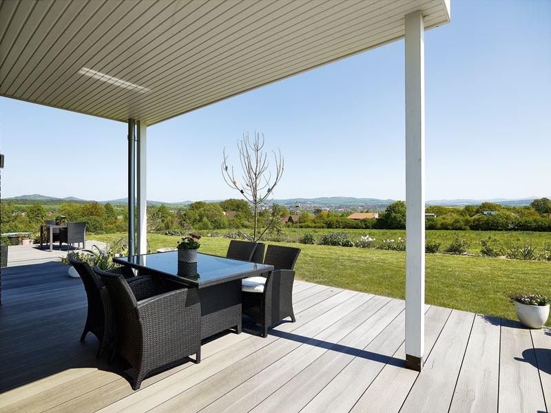 Kundenhaus Baggio von Gussek Terrasse