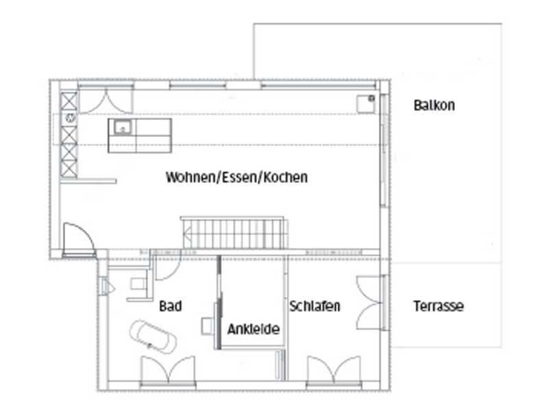Grundriss Pultdach modern 102 von Luxhaus
