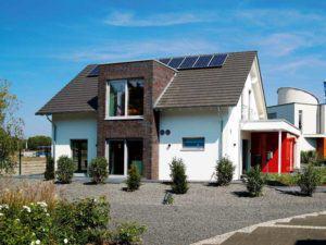 Musterhaus Langenhagen von Okal Rückseite