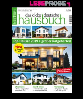 Leseprobe, das dicke deutsche hausbuch 2019