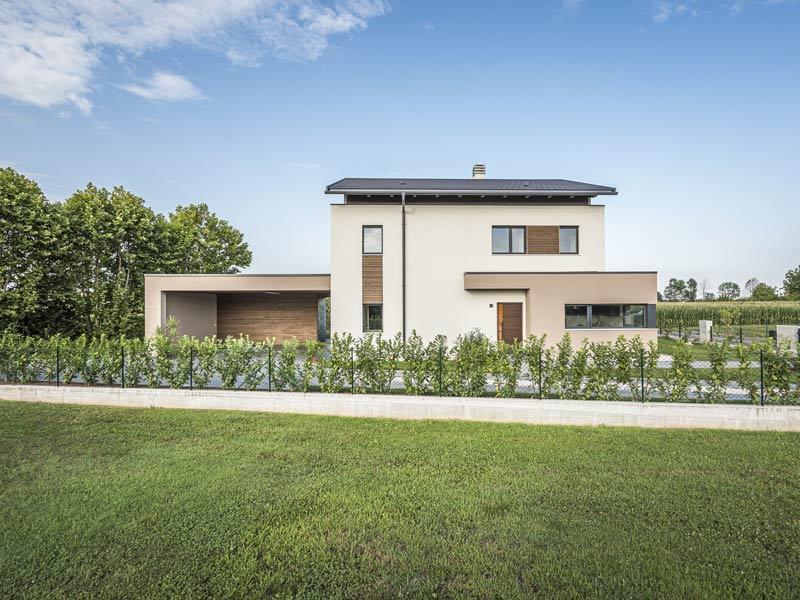 Haus Verona von Rubner-Haus. Außenansicht