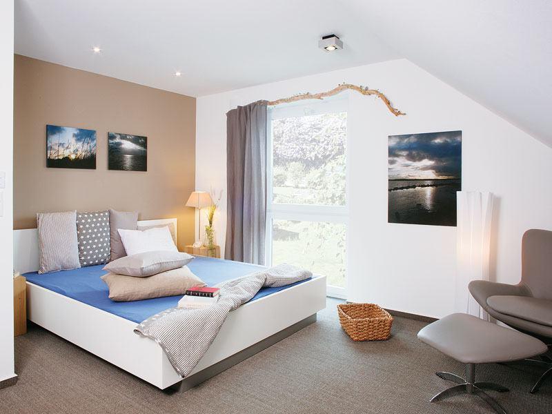 Musterhaus Adelby Danhaus Schlafzimmer