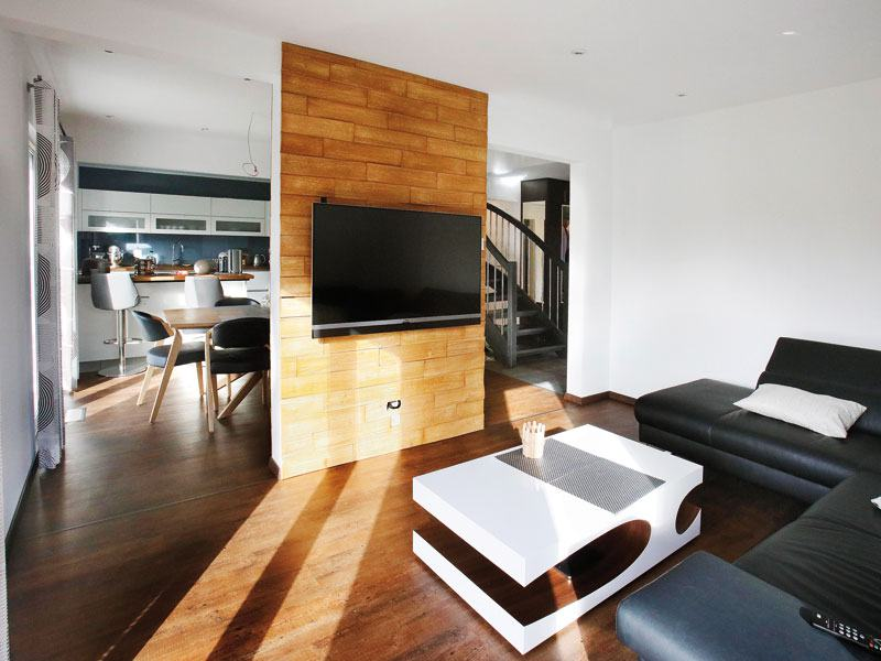 Entwurf Park 151.3W von DAN-WOOD House Wohnbereich
