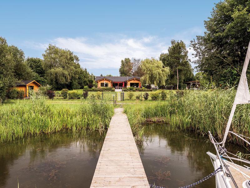 Haus Seeblick von Fullwood Aussenansicht Idylle