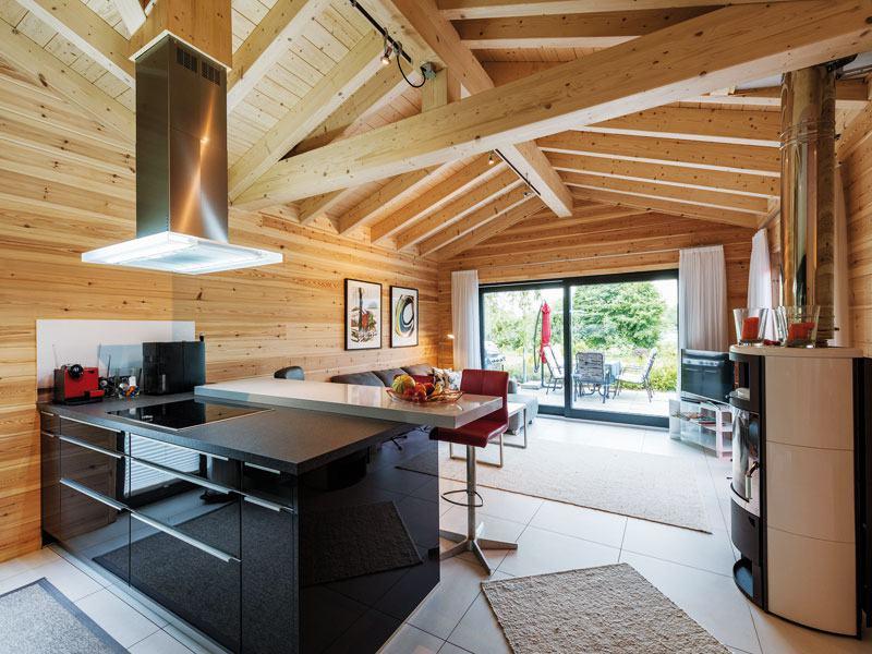 Haus Seeblick von Fullwood Essbereich