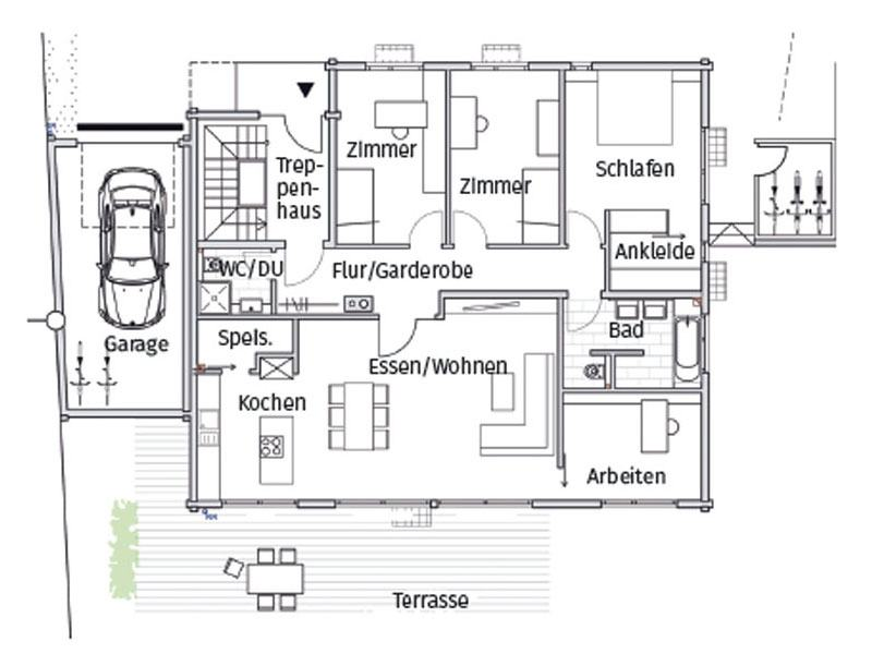 Grundriss Haus Heidelberg von Fullwood