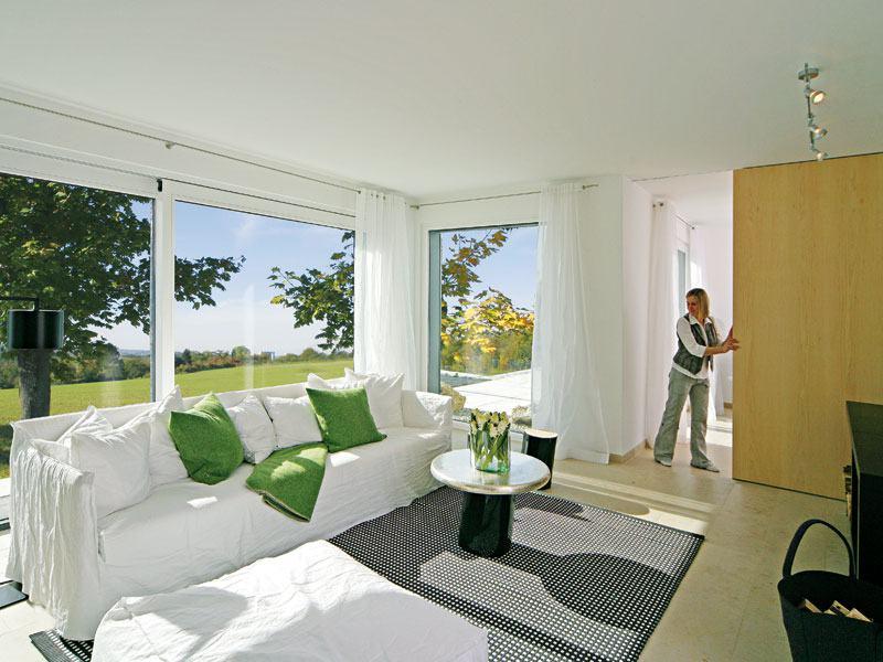 Musterhaus Mannheim von Keitel Haus Wohnbereich