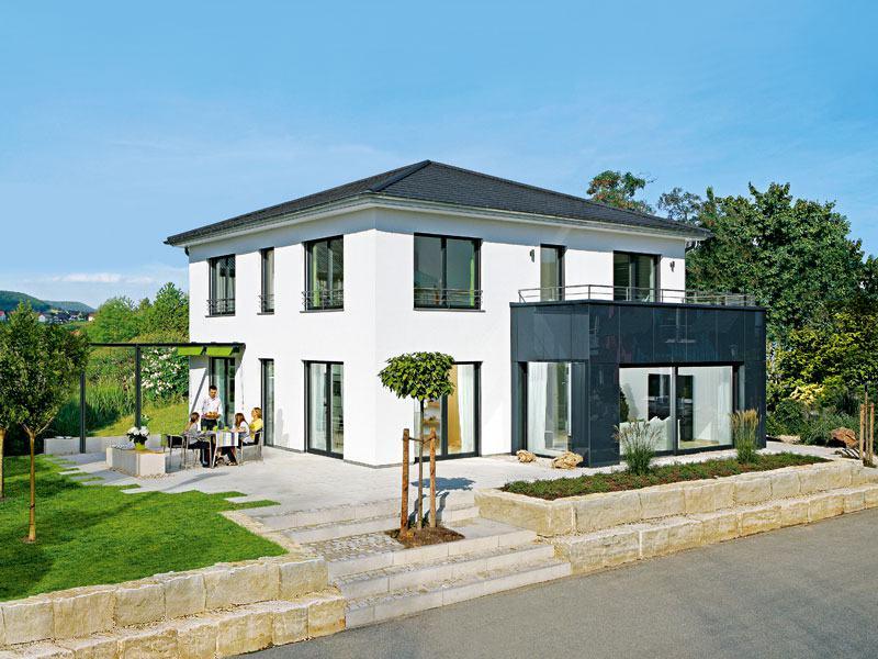 Musterhaus Mannheim von Keitel Haus Aussenansicht