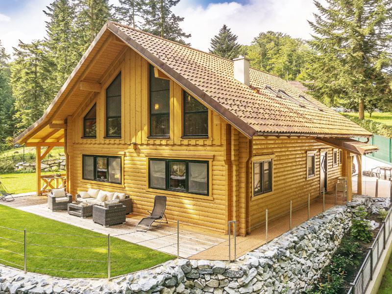 Haus Vienna Woods von Léonwood Aussenansicht