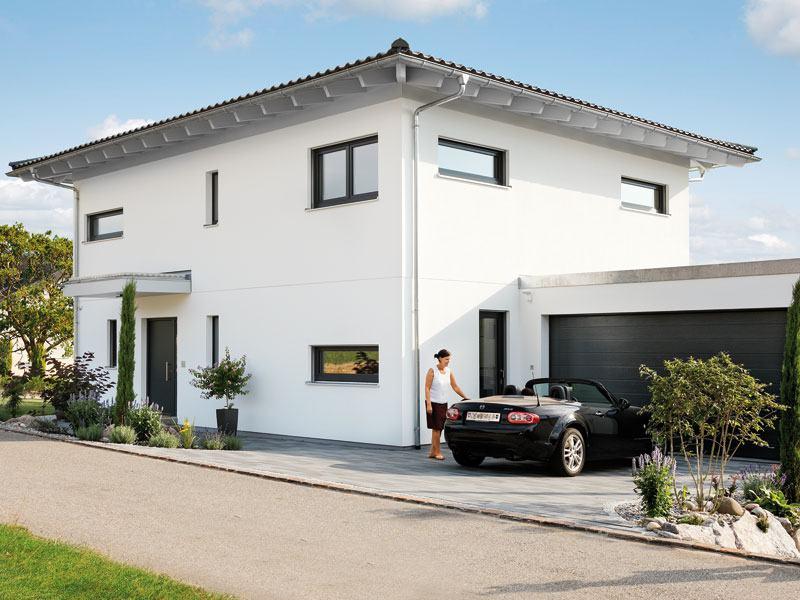 Kundenhaus Glaser Schwoerer Haus Eingang