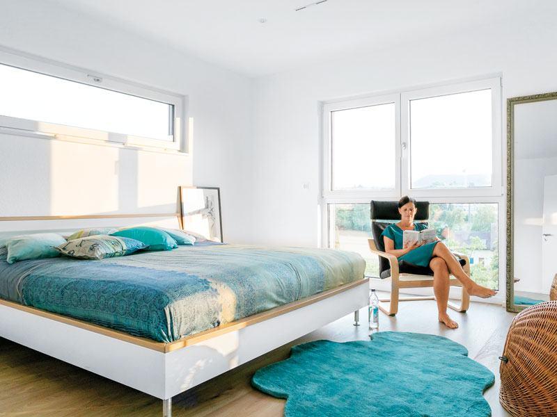 Kundenhaus Glaser Schwoerer Haus Schlafzimmer