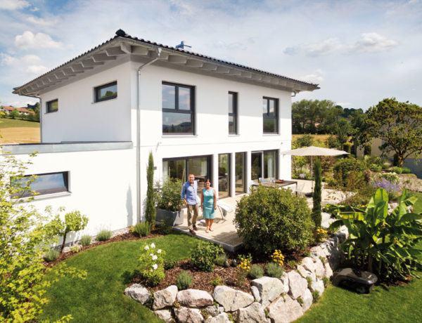 Kundenhaus Glaser Schwoerer Haus Terrasse