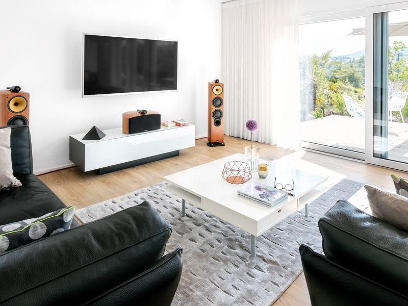 Kundenhaus Glaser Schwoerer Haus Wohnzimmer