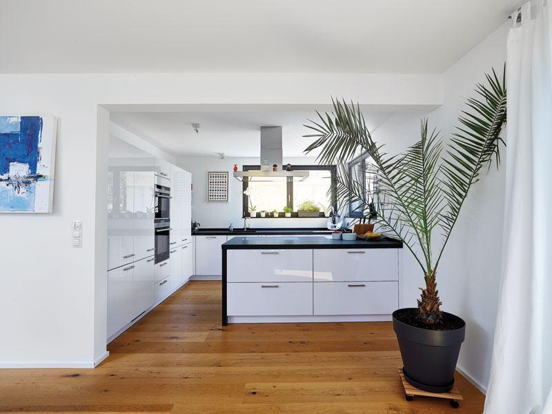 Kochbereich im Entwurf Hoheneck