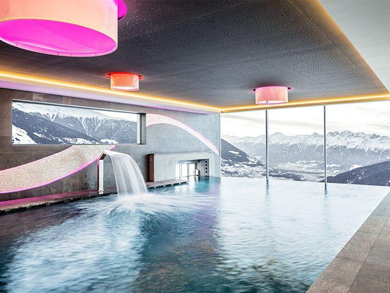 Pool im Alpin- & Relax Hotel DAS GERSTL (Foto: Klaus Peterlin)