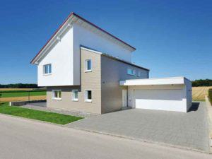 Außenansicht des Hauses Sonnenfeld