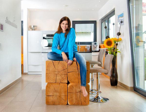 Holz als Werkstoff beim Hausbau