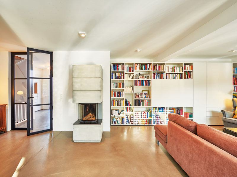 Entwurf Weinberg von Fertighaus Weiss Wohnbereich
