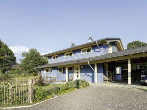 Entwurf Blauraute von Stommel Haus aussen_Eingang