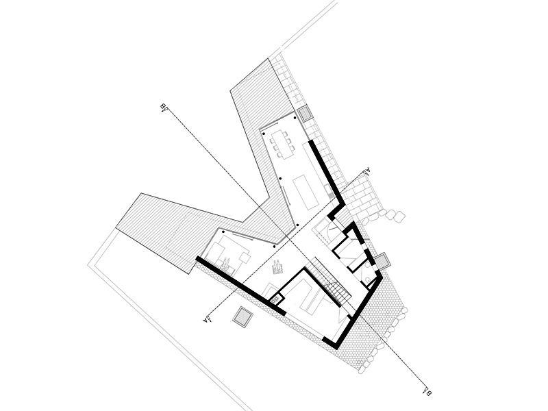 Grundriss individueller Entwurf von Rubner Haus