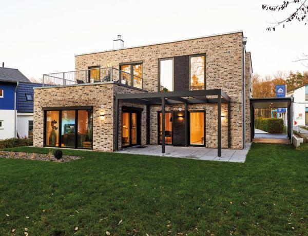 Musterhaus Silkeborg von Danhaus Aussen