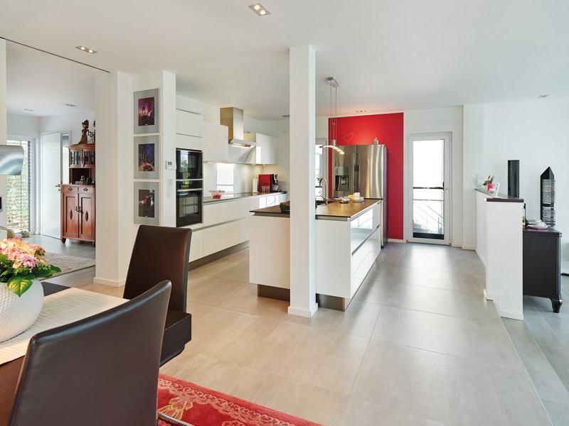 Luxhaus_Landhaus 165_Kochen Essen Wohnen