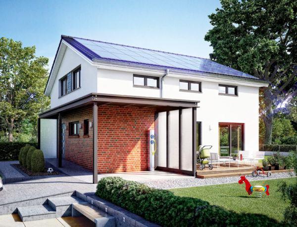 Entwurf ProFamily 160 von Gussek Haus aussen