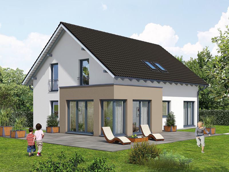 Entwurf-Creativ 152-von Rötzer Ziegel Element Haus Aussen