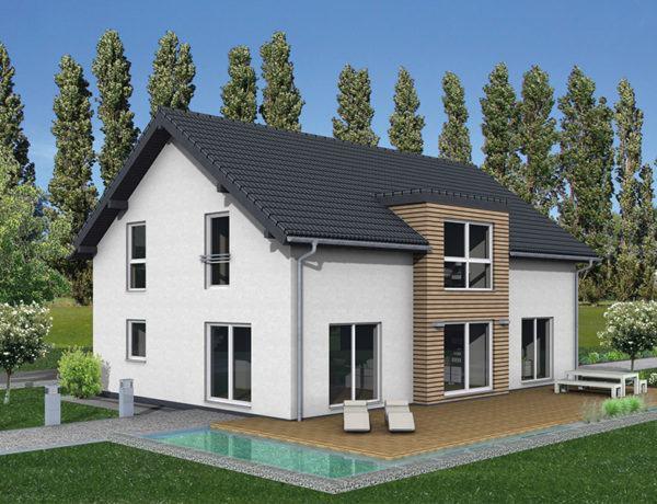 Entwurf Junto 211 von Fingerhut Haus Terrasse