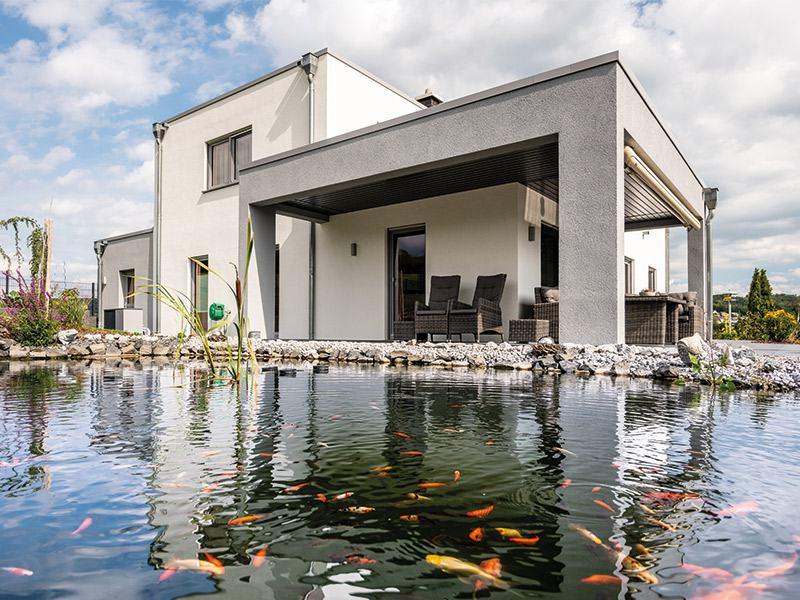 Entwurf Lageto von Fingerhut Haus Teich