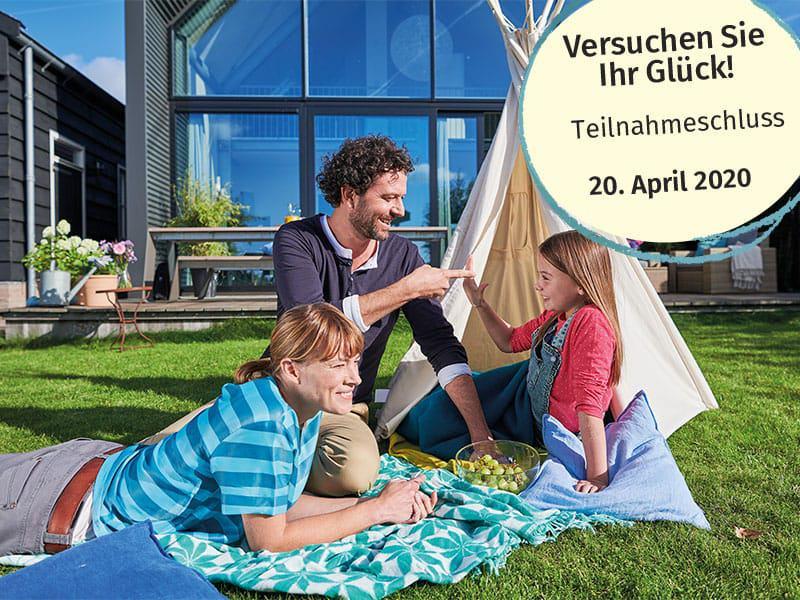 Gewinnspiel Bausparvertrag zuhause3.de und schwäbisch hall