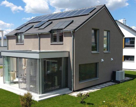 ökologisches Holzhaus von Lehner
