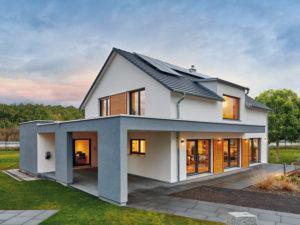 Ökologisch bauen mit Fertighaus Weiss_Musterhaus Günzburg