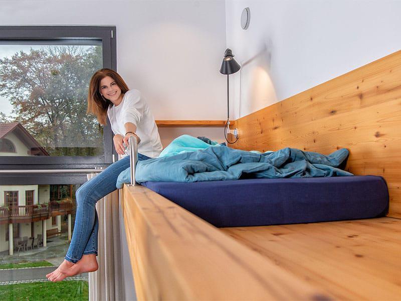 Schlafen mit Ausblick! WeberHaus am Firmensitz in Rheinau Linx in der World of Living