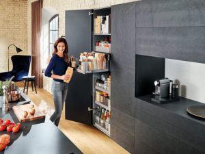 Küchenplanung Tipps zur Vorratshaltung