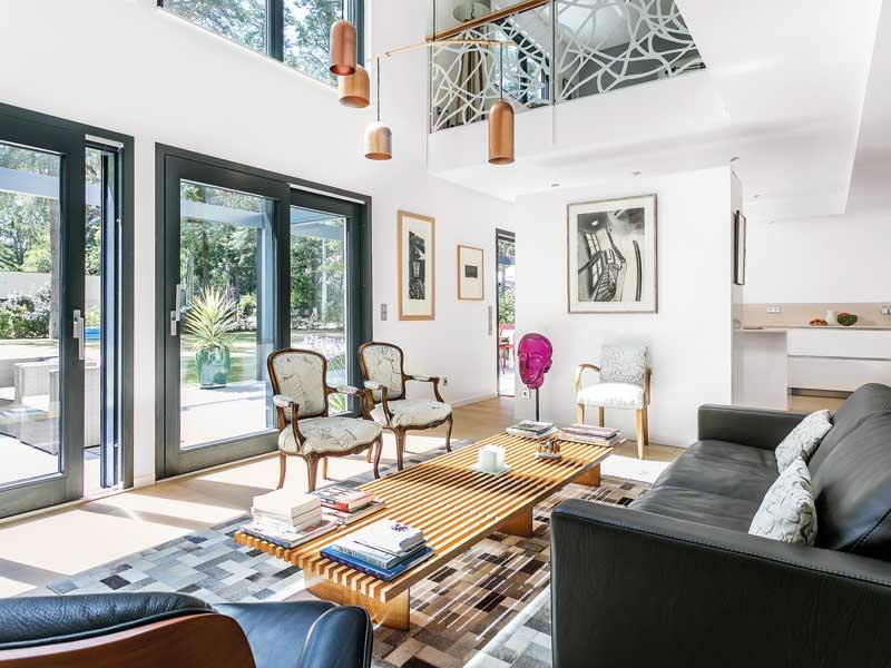 Entwurf Sonigo von Schwörerhaus Wohnzimmer