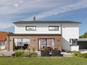 Kundenhaus Gruensfeld von Bittermann und Weiss Terrasse