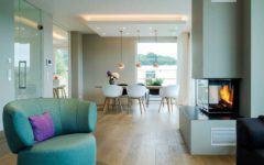 Raumaufteilung Haus Wohnzimmer