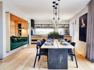 Raumaufteilung Haus Kochen Essen