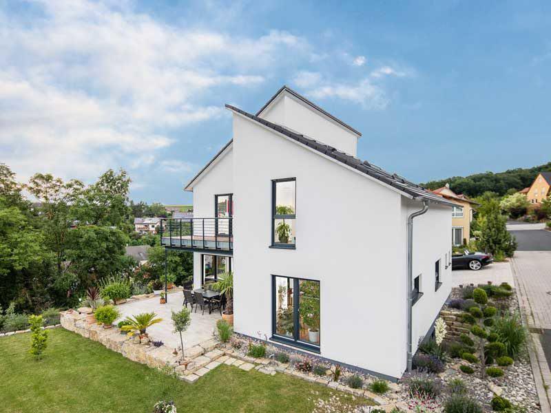 Kundenhaus Oberbreit von Bittermann & Weiss Gartenseite