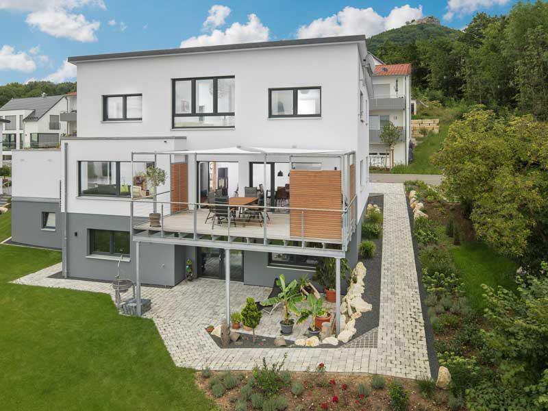 Kundenhaus Neuffen von Bittermann & Weiss Garten