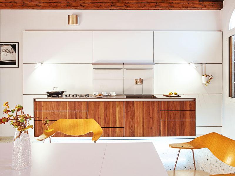 Farbe in der Küche Bulthaup