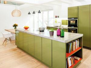 Farbe in der Küche Popstahl