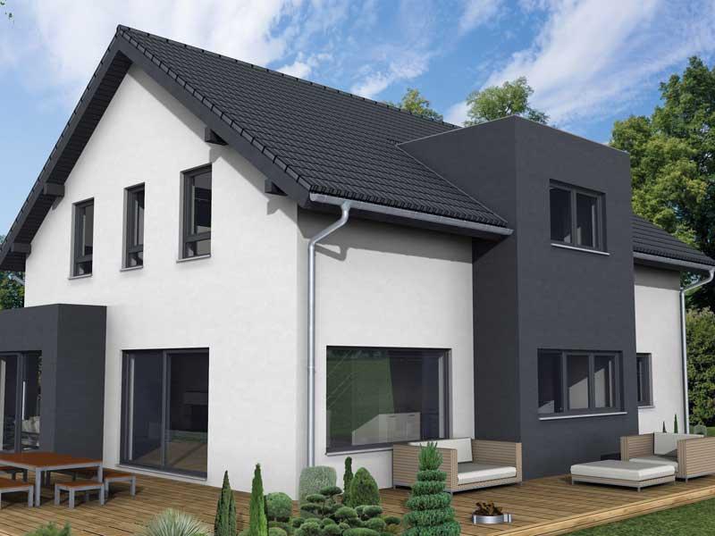 Musterhaus Bad Vilbel von Fingerhuthaus Terrasse