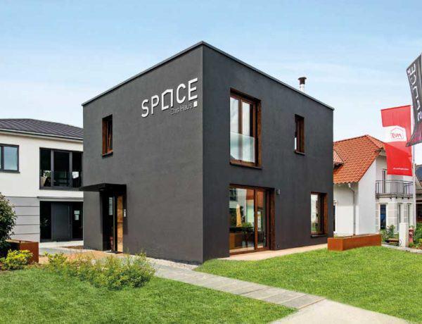 Musterhaus Space von Deutsche Hausmanufaktur Aussen