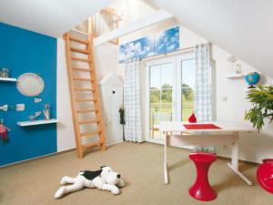1Liter!-Haus Stockholm von Danhaus. Kinderzimmer