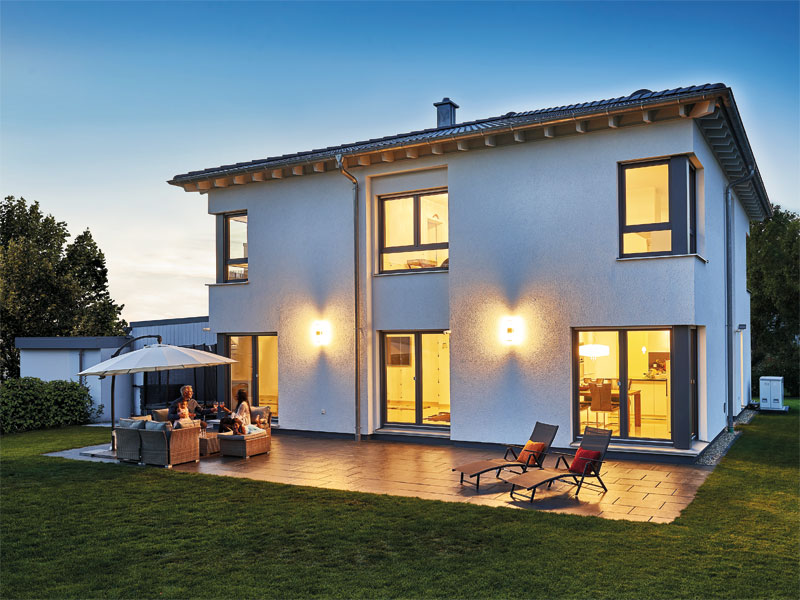 Haus Haberer von Fertighaus Weiss aussen