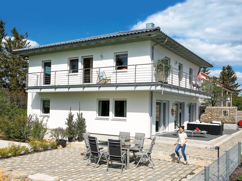 Kundenhaus Koca Schwörerhaus Terrasse